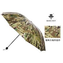 Le chef de guerre 25 pouces militaire extérieure coupe-vent pliage parapluie en Camo