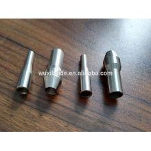 Titanio / aluminio / acero piezas de maquinaria textil cnc mecanizado / fresado / torno máquinas de maquinaria textil
