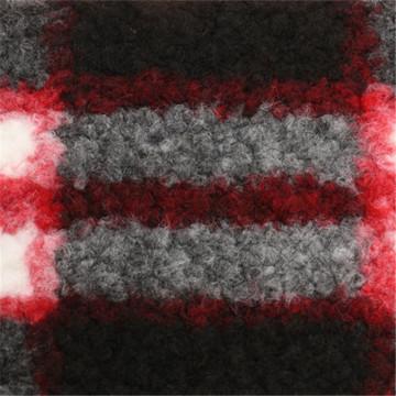 30% Lã 40% Poliéster 30% Acrílico Tecido de lã para sobretudo