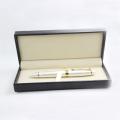Высококачественная металлическая роликовая ручка, рекламная ручка с подарочной коробкой