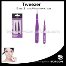 Stainless Steel Material eyelash extension tweezers volume