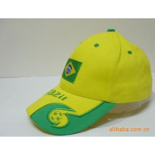 promotional cotton embroidered cap in baseball cap style
