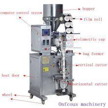 Beutel-vertikale automatische trockene Zucker- / Salz- / Reis- / Korn- / Partikel-Verpackmaschine