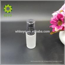 Flüssige Grundierungsflasche 30ml für Gesichtscreme bilden Kosmetiklotion-Pumpenflasche