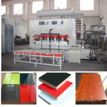 1830 * 3660mm melamin hot press / mdf kaschiermaschine / blockboard lamination hot press