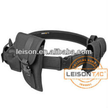 Police Tactical Belt with Pouches for police ISO and SGS standard