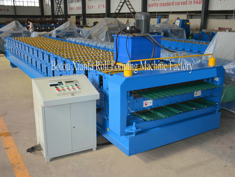 IBR Corrugated Forming Machine