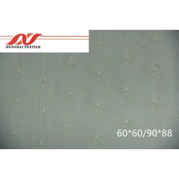 Tissu 100% coton 60 * 60/90 * 88 52/53 '' 70-80gsm