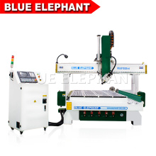 Blue Elephant 1325 4 Axis CNC Router Wood Carving Machine with Rotary Device