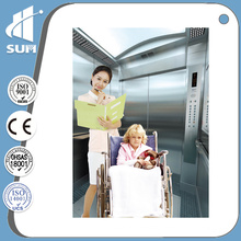 Ce Approved Скорость 1,75 м / с Больничный лифт