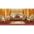 Ensemble de sofa en bois avec chaise de sofa pour des meubles à la maison (D962)