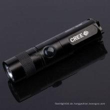 1X14500 oder 1xaa oder 1X16340 Batt Taschenlampe mit Ce