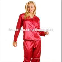 Bright spandex satin charmeuse fabric for fashion dress/blouse