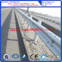 Traffic Guardrail Galvanized Highway Guardrail