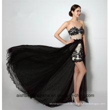 Spitze abnehmbare Brautjungfernkleider Stil Hochzeit Party Kleider