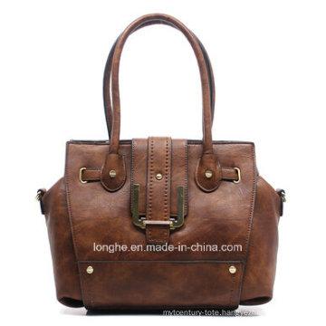 Hot High Quality Rivet Fashion Ladies Leather Handbags