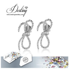 Destiny Jewellery Crystals From Swarovski Earrings Tie Earrings