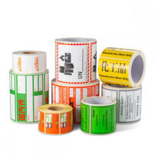 Blank Thermal Transfer Printing Label for Shipping Label