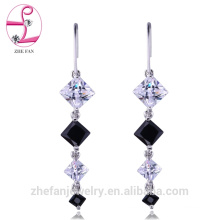 jewelry zhefan sgs certificate bridal chandelier long wedding chandelier earrings