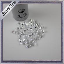 Лаборатория создала Грушевидную форму различную форму и размер алмазов CZ