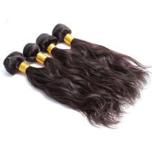 Top 6a grade quality hair 1b# virgin peruvian human hair extensions
