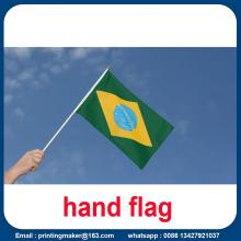 Printing Polyester National Hand Flag