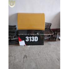 Painéis de portas de acesso da máquina escavadora do CAT Caterpillar 313D