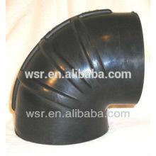 tuyau de coude en caoutchouc moulé diplômé par ISO9001 et TS16949