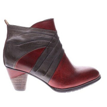 New Look Leder Stiefeletten mit zweifarbigem Styling