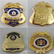 Воинский значок, изготовленные на заказ значок идентификатора безопасности (GZHY-ка-019)