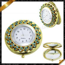 Проложить кристалл часы, зеркало ювелирные изделия (MW001)