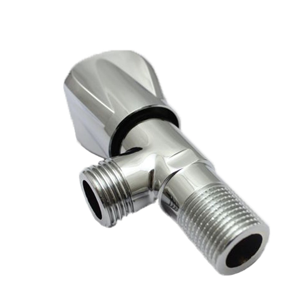 Polished Stainless Steel Brass Zine Abs Body Angle Valve