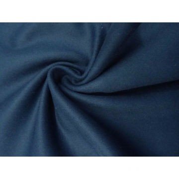 Lovely Oxford / Denim Blue Wool-Blend Melton Coating