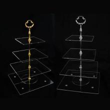 Suporte de tela acrílica de 4 camadas, Store Rack Rack