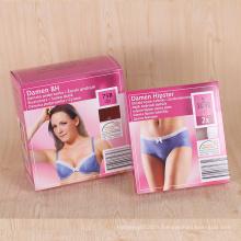 Usine papier personnalisé matériau sexy femme sous-vêtements boîte d'emballage