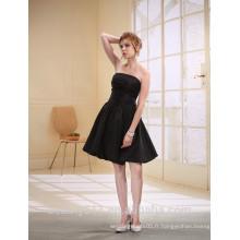 A-ligne Sweetheart Short / Mini robe de bal Organza avec une robe de soirée D0007