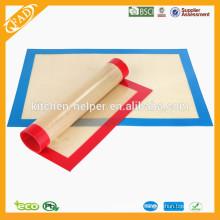 China Shenzhen fabricante Grade alimentar FDA resistente ao calor anti-stick Silicone Baking Mat