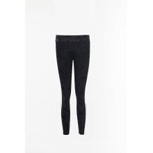 Pantalones de terciopelo negro pantalones jogger