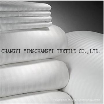 2015 tissu de couleur blanche 100% coton à chaud