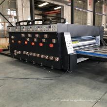 Semi-auto corrugated paperboard printing slotting machine
