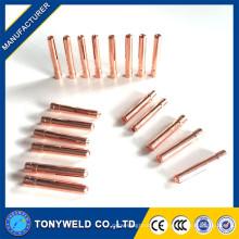 Collier de soudage WP-9 tig 13n23 avec une taille de 2,4 mm