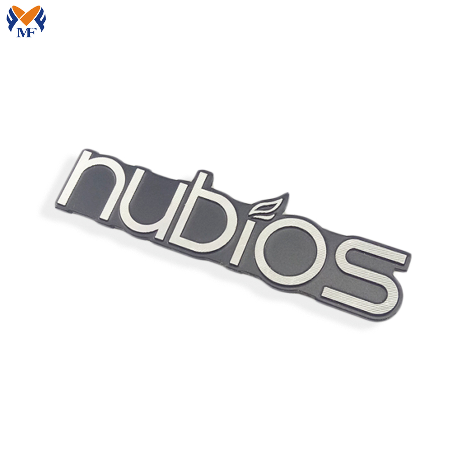 Metal Logo Sticker