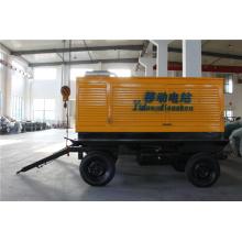 150kVA Cummins Engine 4 Wheel Trailer Generator