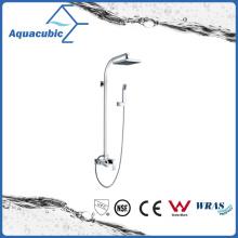 Torneira para duche de banho monocomando de parede de cromo de parede (AF6028-7B)