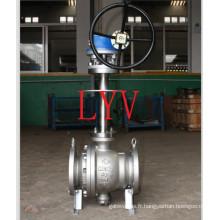 Robinet à tournant sphérique cryogénique d'acier inoxydable d'API avec la basse température utilisée pour la transplatation de gaz