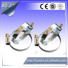 Braçadeira de tubo zincada