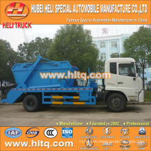 10cbm 190hp DONGFENG 4x2 skip loader garbage truck/arm roll container refuse truck/trash truck low price high quality