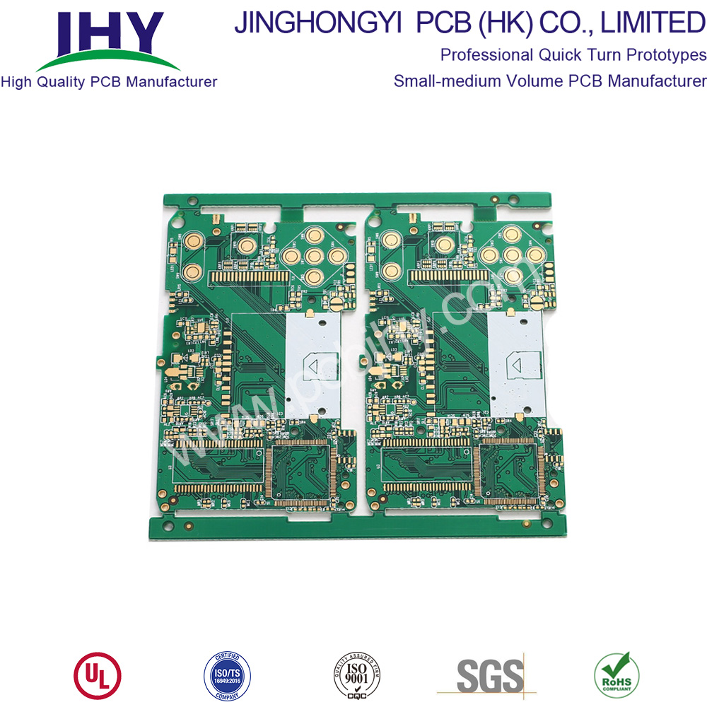 "4 Layer TG170 ENIG 1u"" High TG PCB"