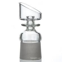 Domeless Quartz Clavo para fumadores de tabaco con hembra en ángulo (ES-QZ-011)