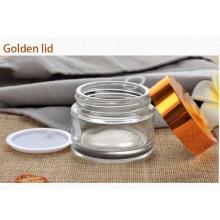 Pot à cosmétiques avec bouchon en aluminium (NBG18)